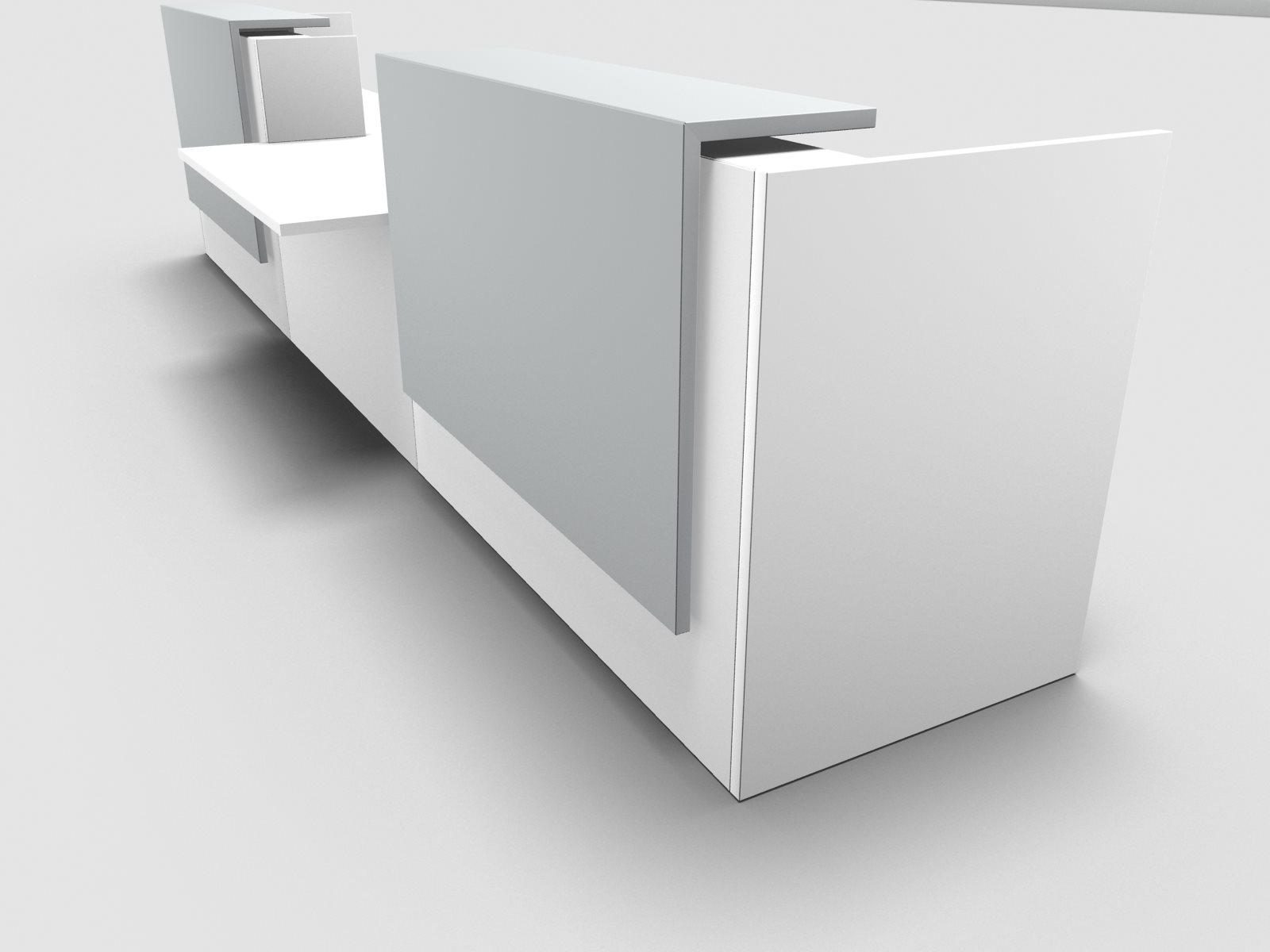 b rom bel preiswert und schnell quadrifoglio z2 empfangstheke c41 weiss 466cm rollstuhlplatz. Black Bedroom Furniture Sets. Home Design Ideas