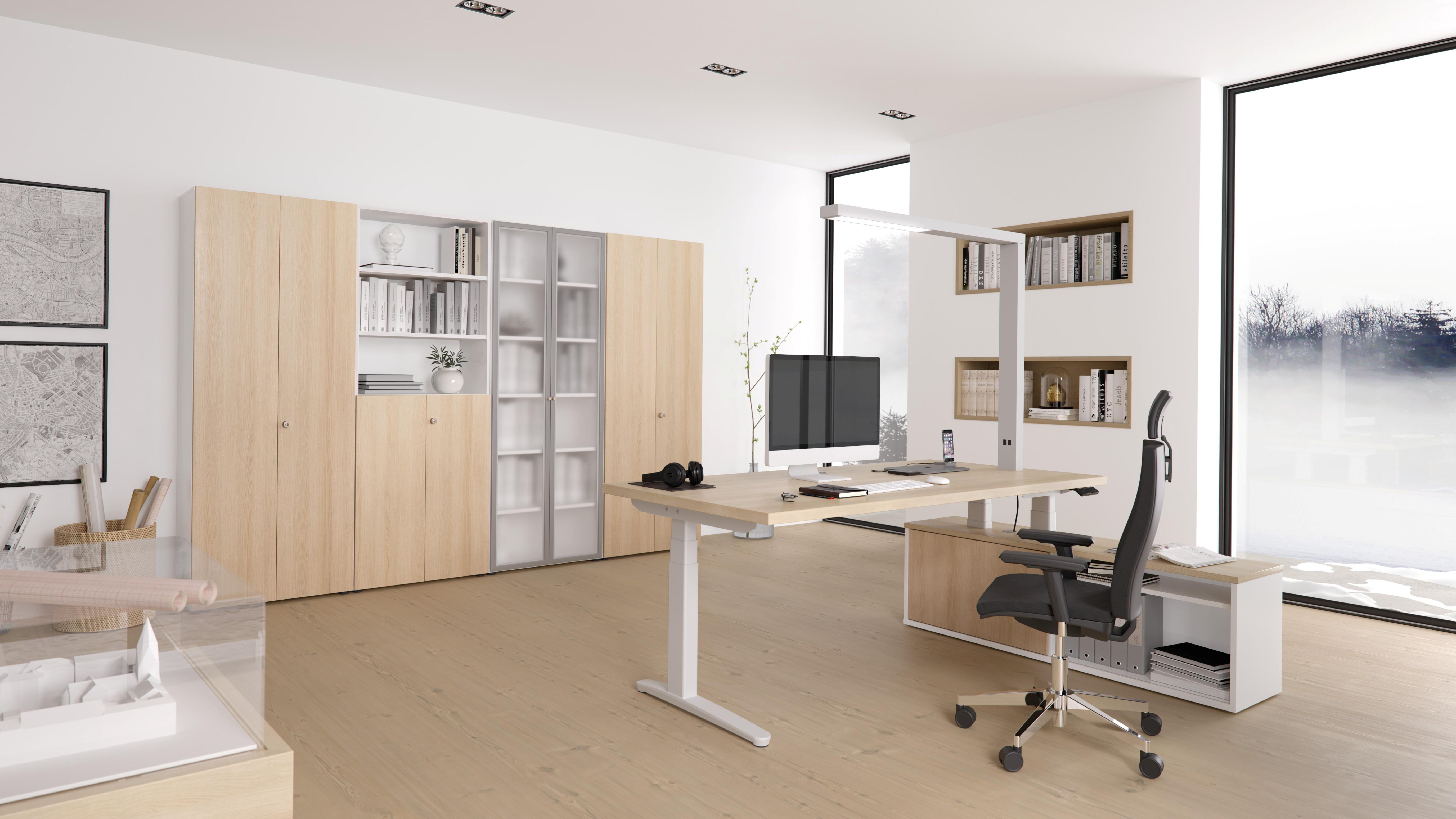 Büromöbel preiswert und schnell - Hammerbacher A Schreibtisch