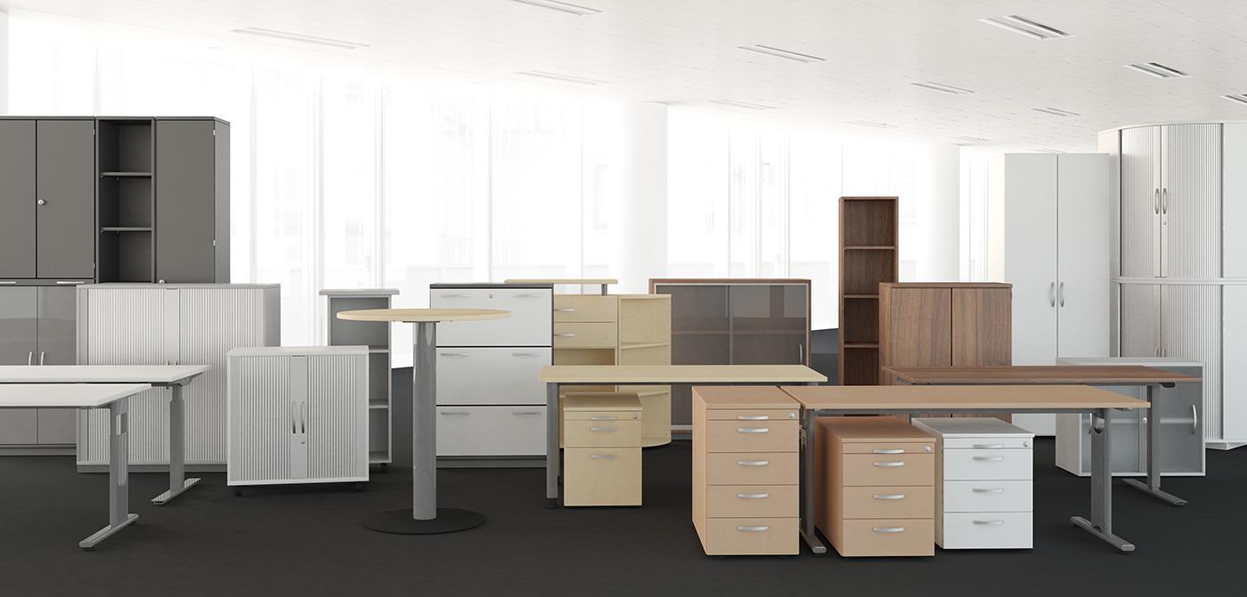 Büromöbel preiswert und schnell - Geramöbel GmbH