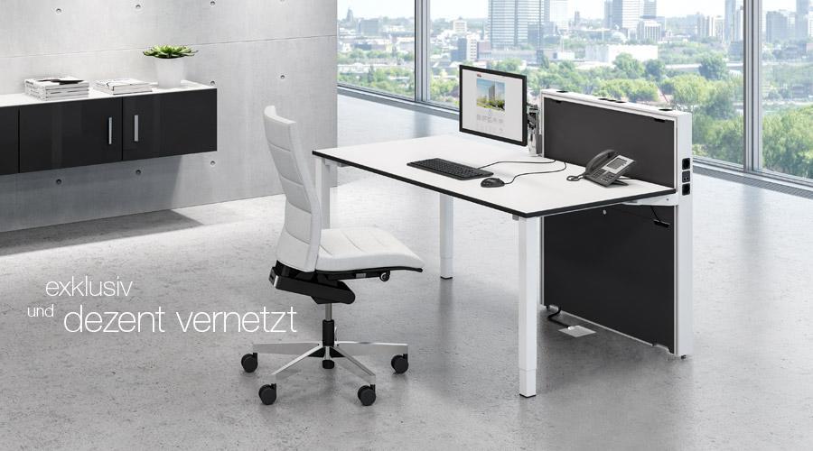 Büromöbel preiswert und schnell - Assmann APPLICA Docking System