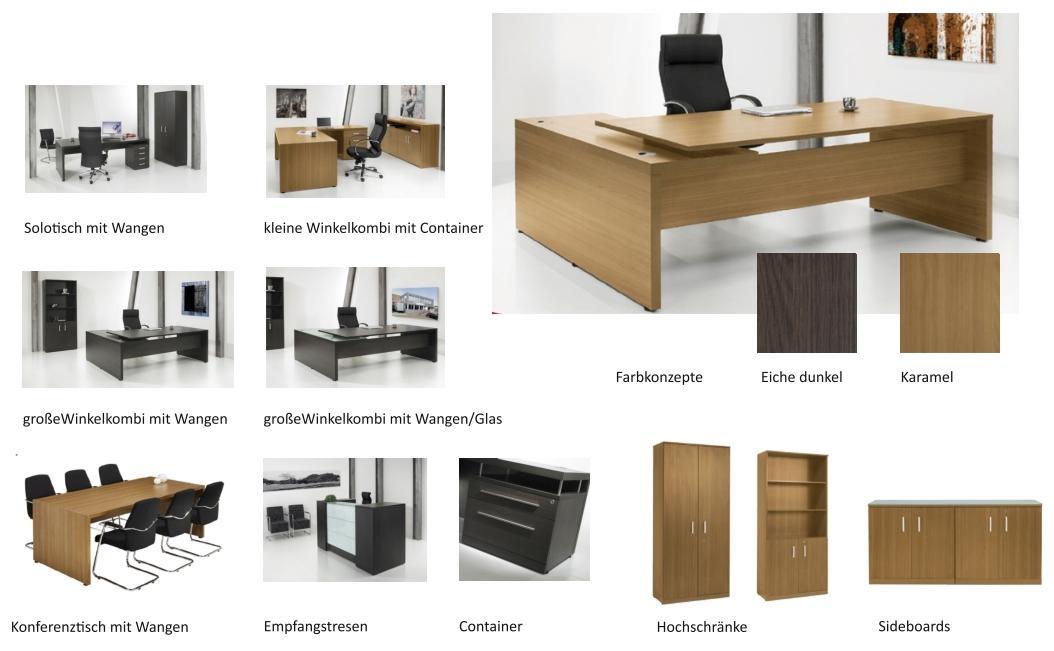 Büromöbel preiswert und schnell - Chefzimmer SEMPRE