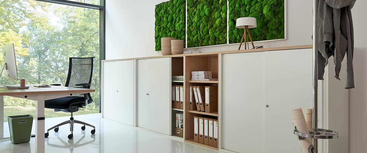 Büromöbel preiswert und schnell - Febrü KORPUS Schranksystem