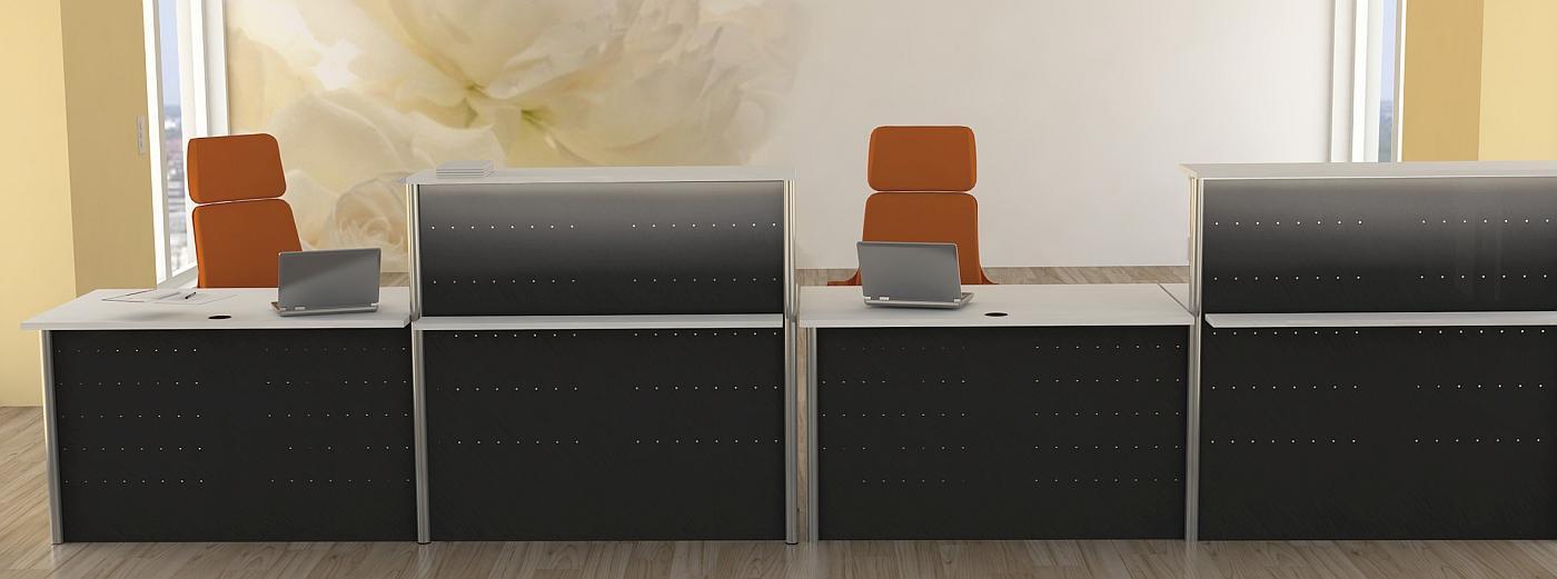 Büromöbel preiswert und schnell - Kerkmann MILANO Systemtheke
