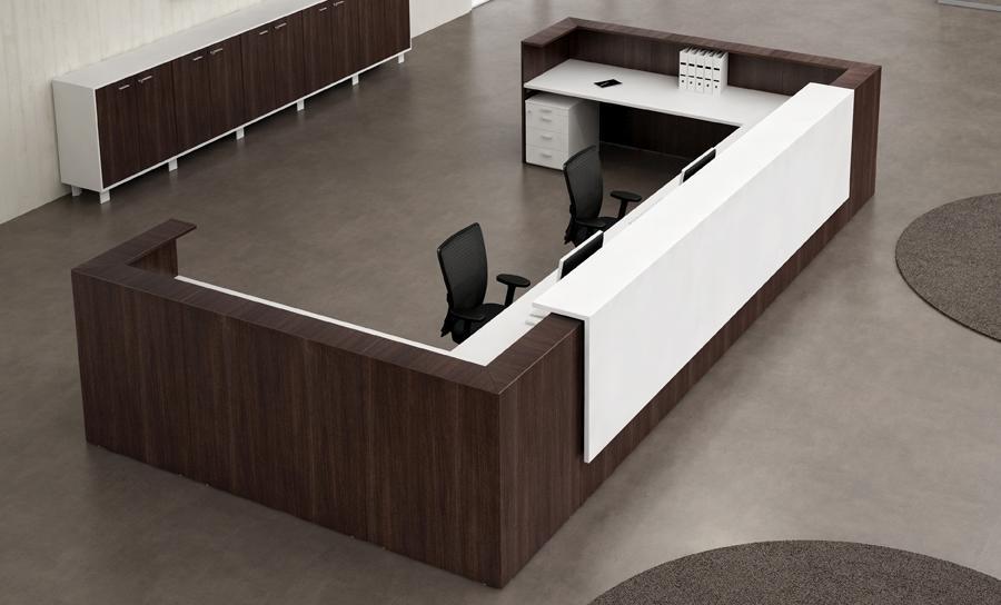 Büromöbel preiswert und schnell - Quadrifoglio-Z2-Thekensystem