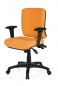 Preview: Bueroland PAMPLA Drehstuhl Stoff basic orange