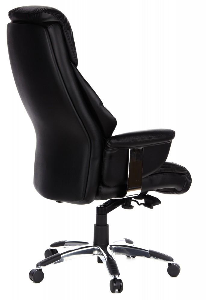 b rom bel preiswert und schnell bueroland muskat chefsessel leder schwarz. Black Bedroom Furniture Sets. Home Design Ideas
