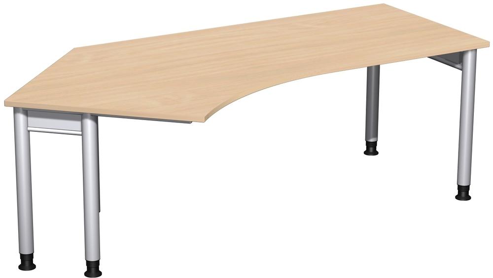 Büromöbel preiswert und schnell - Geramöbel 4 Fuß PRO Schreibtisch ...
