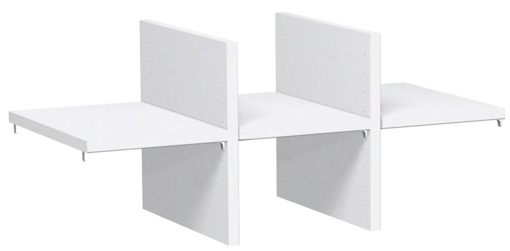 Büromöbel preiswert und schnell - Geramöbel FLEX Regalausfachung 1OH
