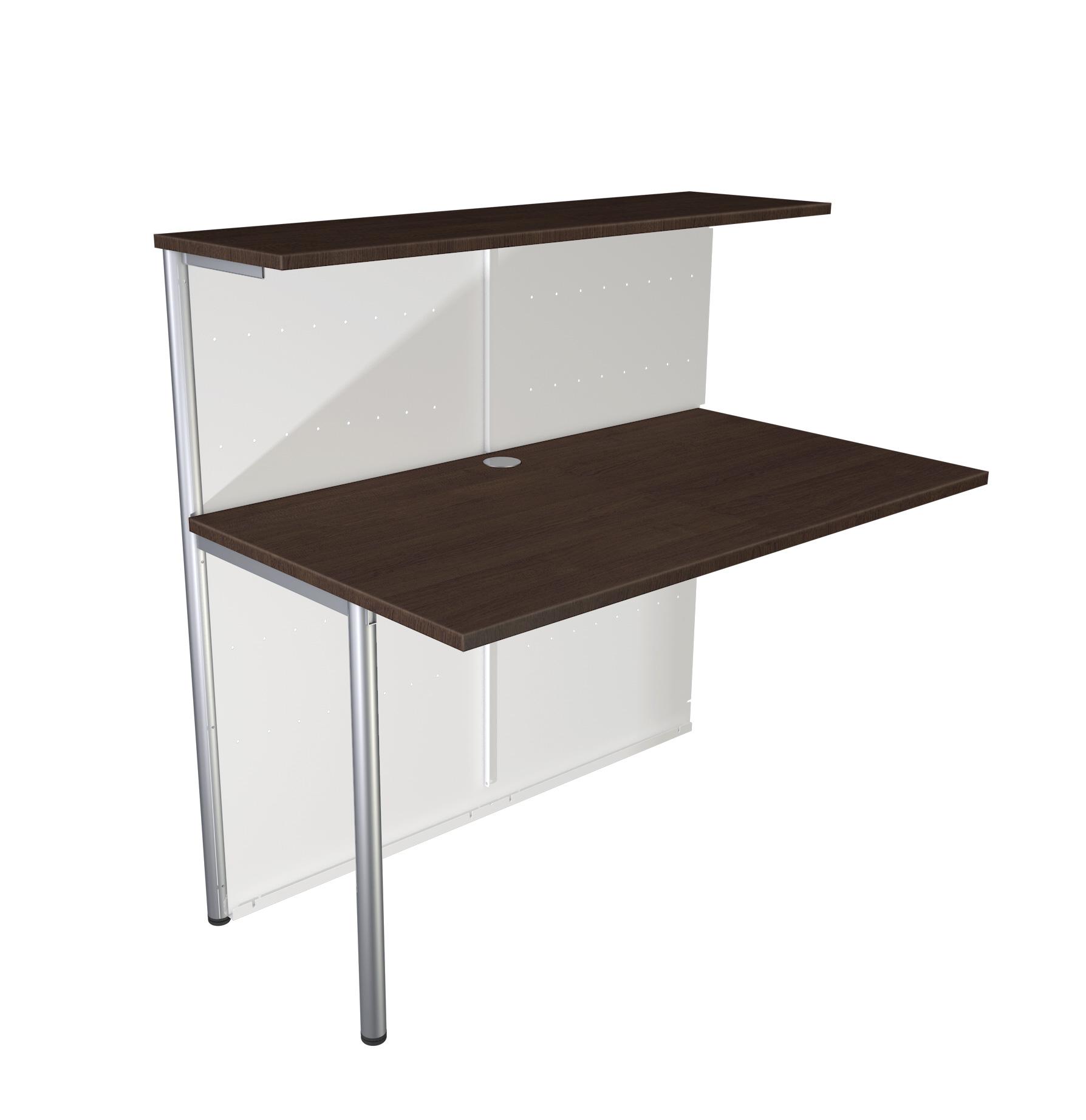 Büromöbel preiswert und schnell - Kerkmann MILANO Anbautheke gerade ...