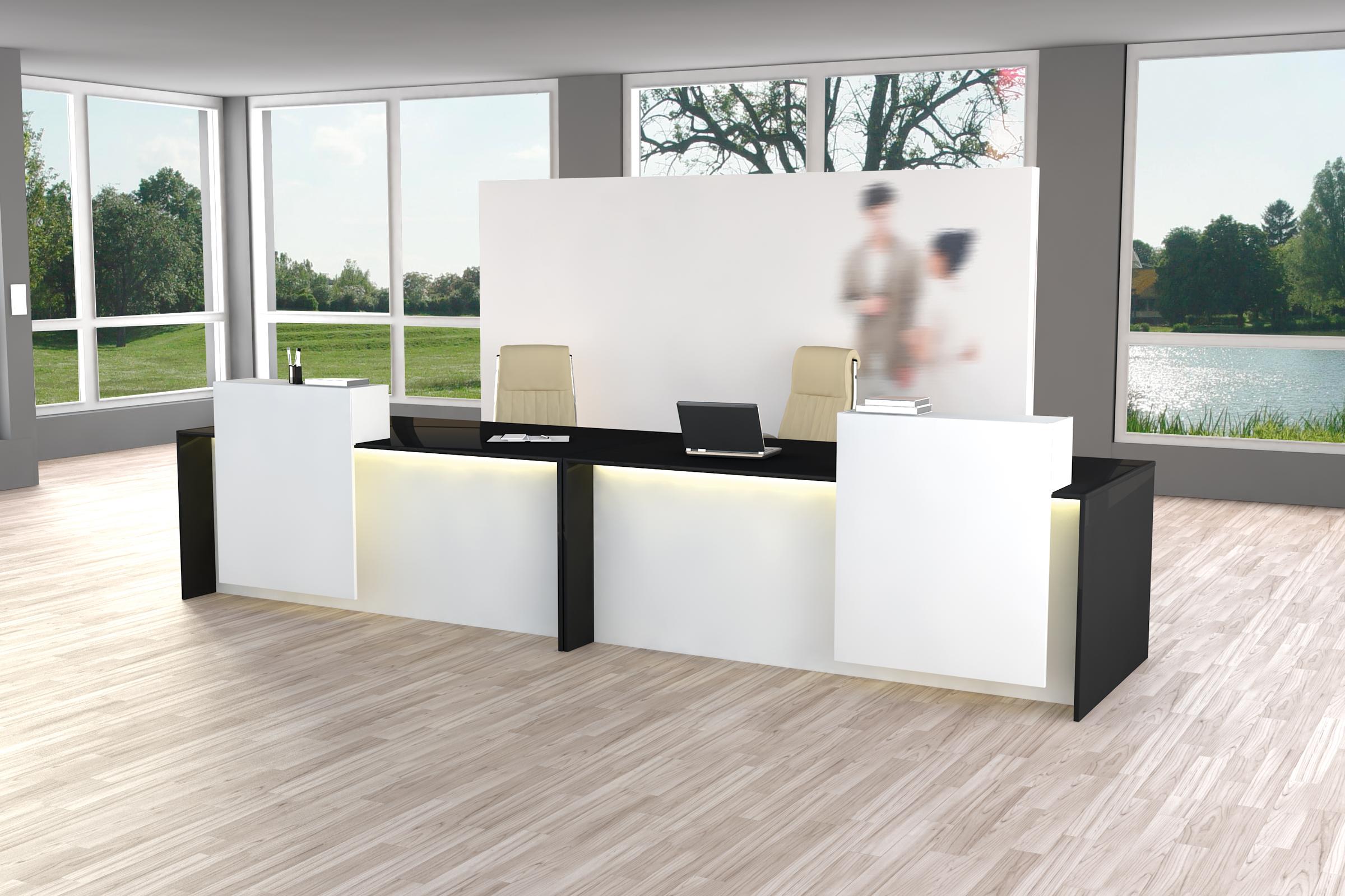 Büromöbel preiswert und schnell - Kerkmann PARLERMO Beratungs-Theke