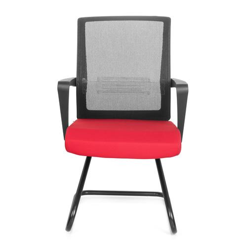 b rom bel preiswert und schnell konferenzstuhl freischwinger stuhl perl stoff schwarz. Black Bedroom Furniture Sets. Home Design Ideas