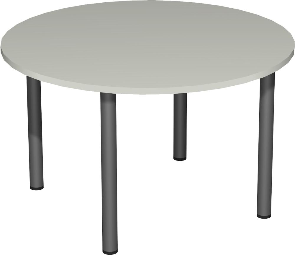 Büromöbel preiswert und schnell - Geramöbel Rundfuß-Konferenztisch ...