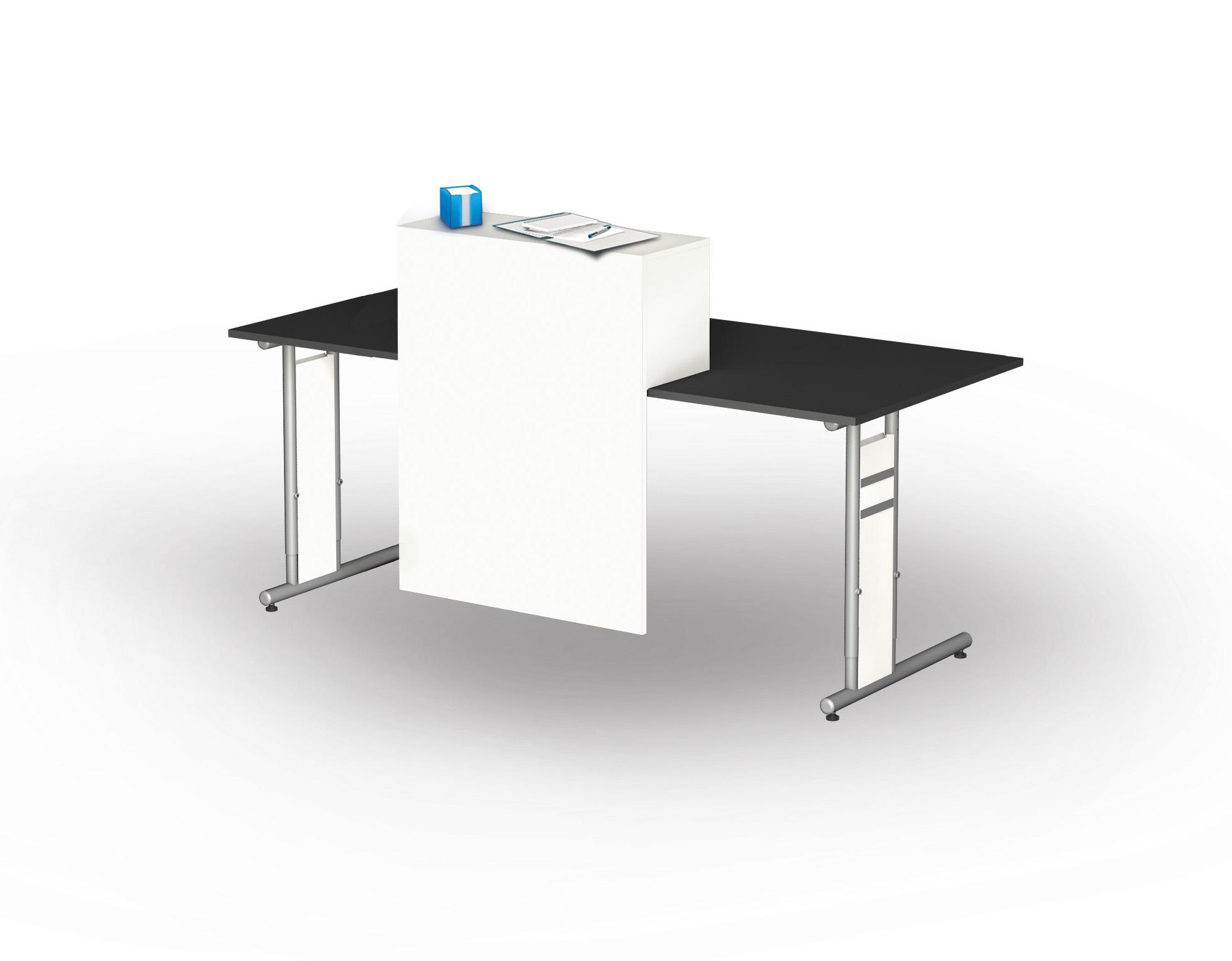 Büromöbel preiswert und schnell - Kerkmann Sichtschutz mit ...